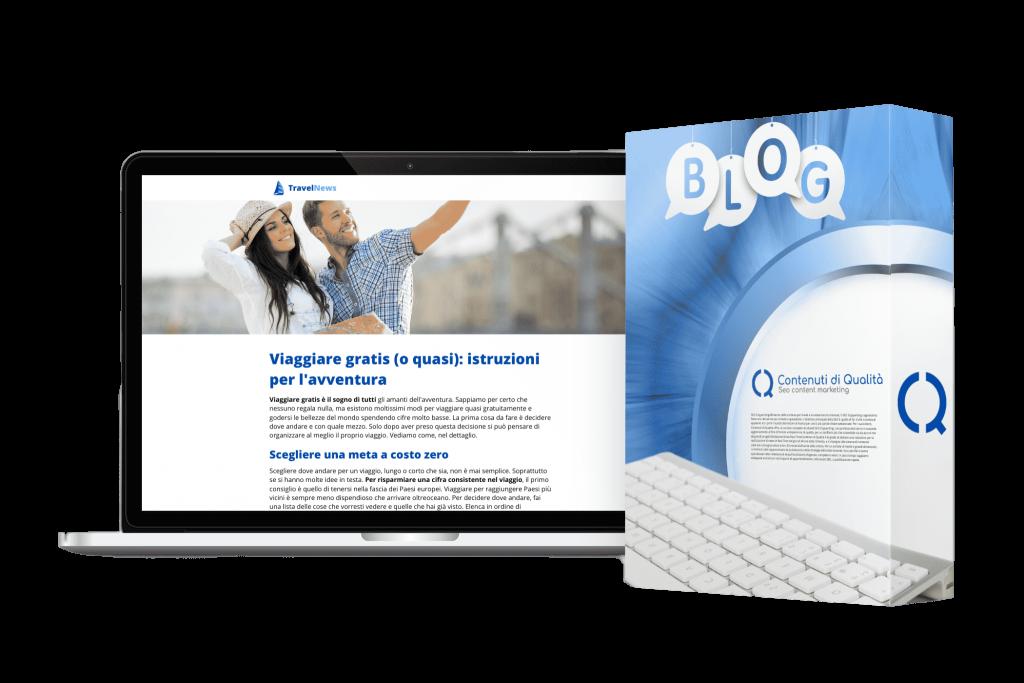 Gestione professionale blog aziendali e privati